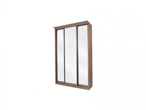 Купить шкаф купе Элит 3-х дверный зеркальный