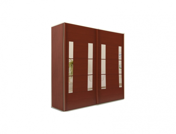 Элитный шкаф-купе Торис ЛДСП 5-247 бук 1.6