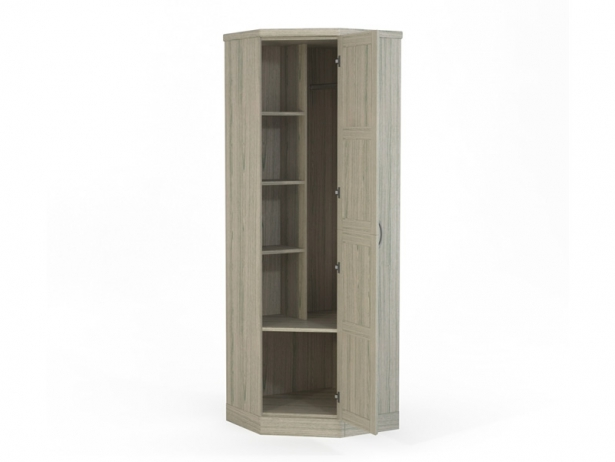 Купить белый шкаф угловой Варна беленый дуб