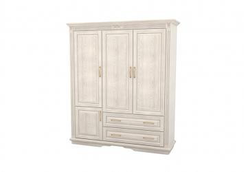 Шкаф из массива 3-х створчатый Палермо  с ящиками