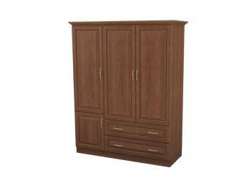 Шкаф распашной 3-х створчатый с ящиками Эдем