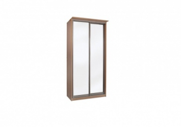 Шкаф купе Элит 2-х дверный с зеркалами